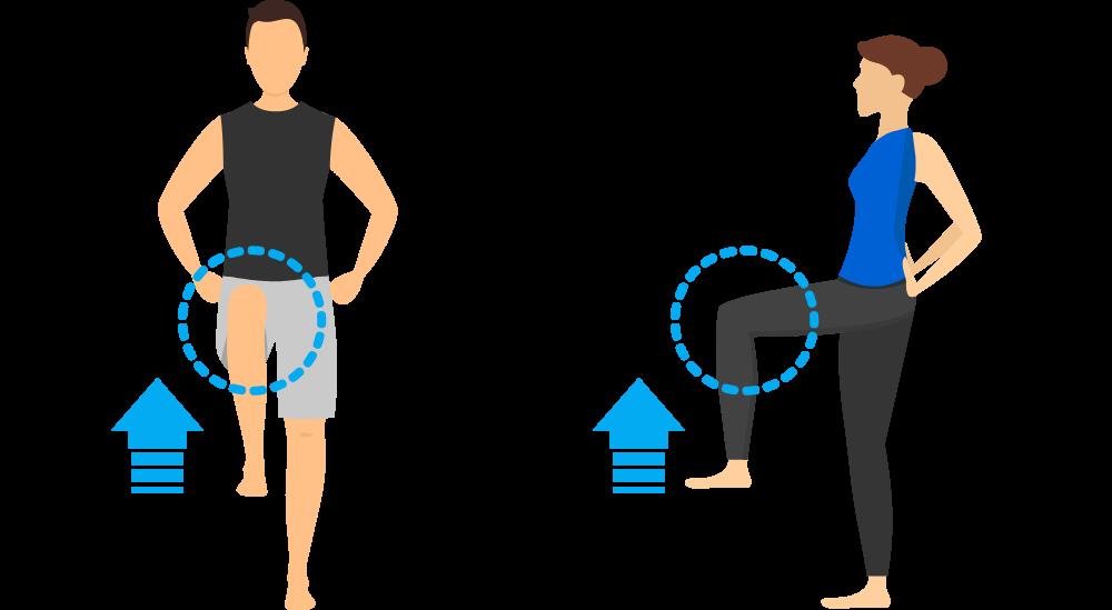厚労省のテストで脚力が何歳かわかる、片足立ちで何歳かチェック | VZONEGOLF